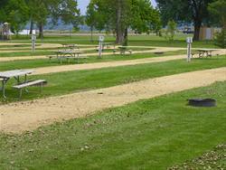 Mud Lake Park: Campsite 39 -No Image